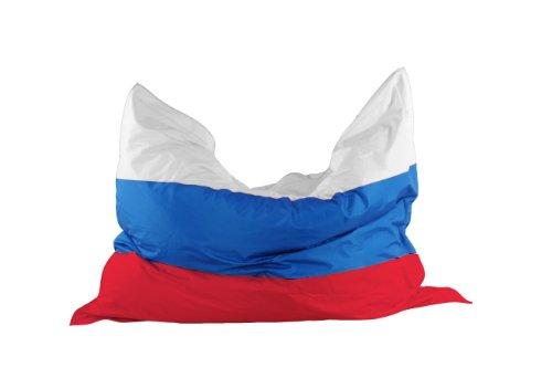 """Kinzler K-11290/398 Riesensitzsack Flagge """"Russland"""" 140x180 cm, bunt"""