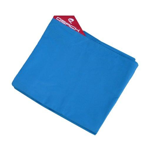 QSack Outdoorer Kindersitzsack Hülle ohne Füllung, Wechsel Bezug Kinder Sitzsack Outdoor 100 x 140 cm, Neu (blau)
