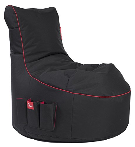 GAMEWAREZ Crimson Thunder 2.0 Gaming Sitzsack, Made in Germany