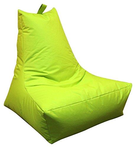 Mesana XXL Lounge-Sessel, ca. 100x90x80 cm, Sitzsack für Outdoor & Indoor, wasserabweisend