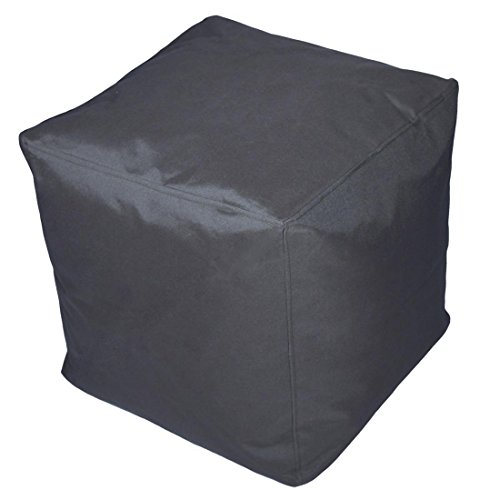 Sitzhocker | Würfel | Cube - anthrazit - 40 x 40 x 40 cm - Outdoor / Indoor