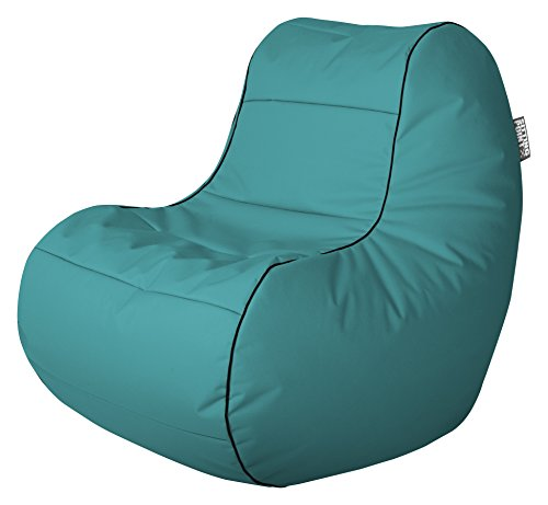 Sitting Point 28742-34 Sitzsack Chillybean Scuba, 108 x 75 x 70 cm, petrol
