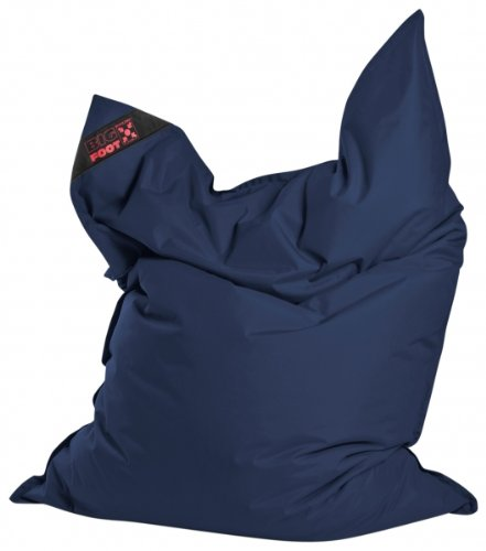 Sitzsack Scuba Big Foot 130x170cm jeansblau (Outdoor)