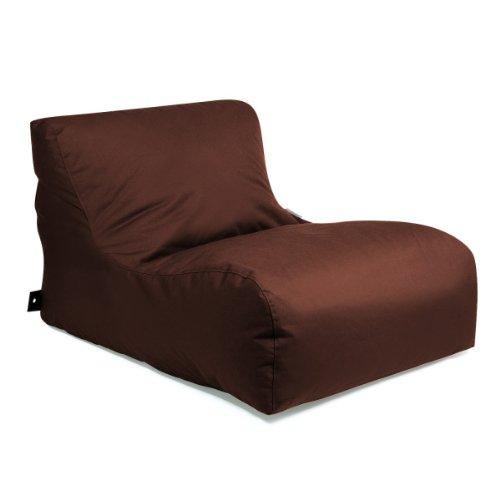 OUTBAG 'New Lounge' Outdoor-Liege, Sitzsack, deluxe skin, chestnut (braun)